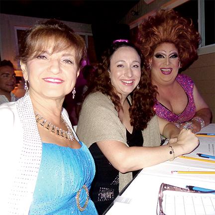 Blue Moon Rehoboth Idol Judges - Pamala Stanley, Meghan Gardner, and Mona Lotts