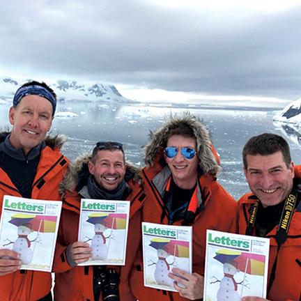 Todd Gerdes, David Shotwell, Erin Short, Kelly Johnson - Antarctica