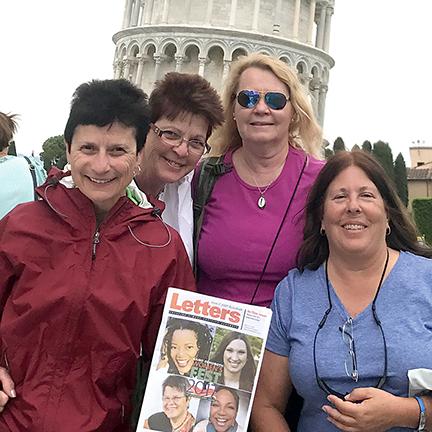 Marge Amodei, Penni Hope, Katherine Sams, Cara Radosevich
