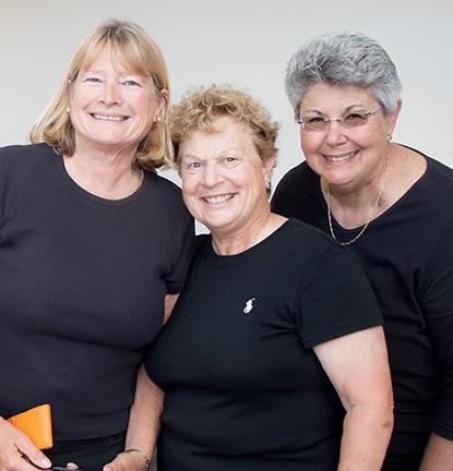 Evelyn Maurmeyer, Monica Fleischmann, Natalie Moss