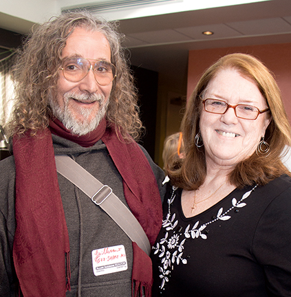 Guillermo Silveira and Sharyn Warwick