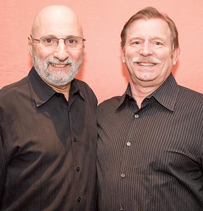 Joe DiSilvo and David Scuccimarra