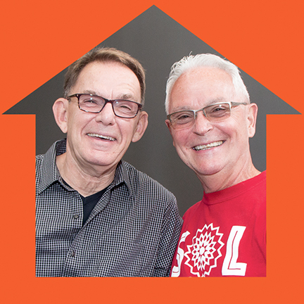 May 19, 2017 - Volunteer Spotlight - Bill Graff and Jeff Schuck