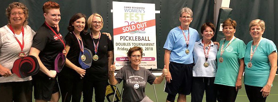 Women's FEST Pickleball Winners