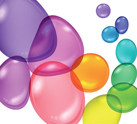 Rainbow Bubbles