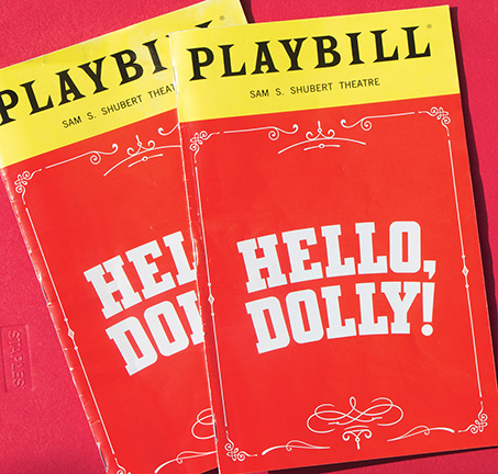 Hello, Dolly! Playbill