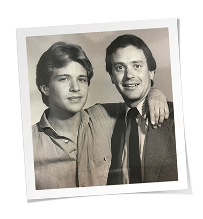 Murray and Steve