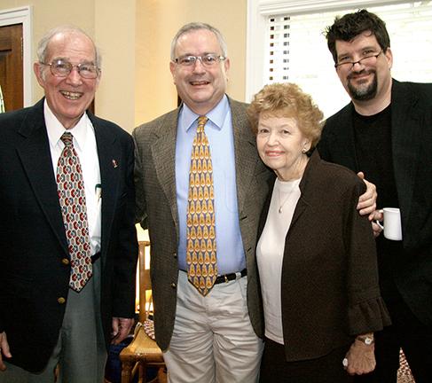 Bob Archibald, Steve Elkins, Mary Archibald, John Archibald