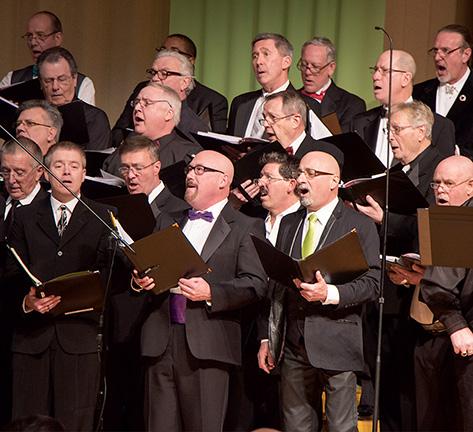 Members of the CAMP Rehoboth Chorus