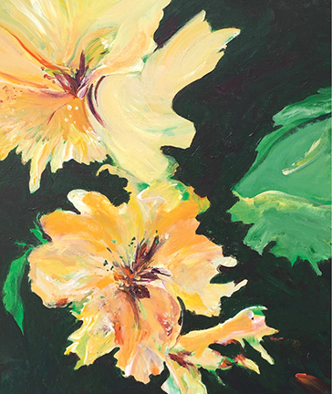 Daffodil Bouquet by Jane Knaus