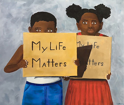 My Life Matters - artwork by Donna Blakey