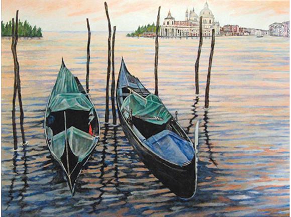Gondolas by Carolina Huff