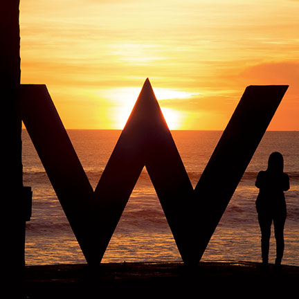 The W Hotel in Bali