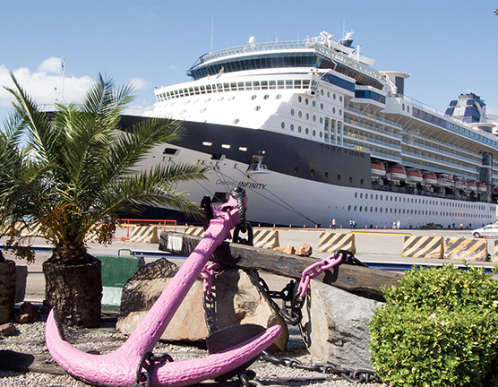 CAMP Cruise-Celebrity Infinity in Montevideo