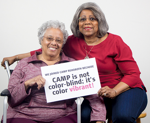 Sharon Bembry and Lois Powell