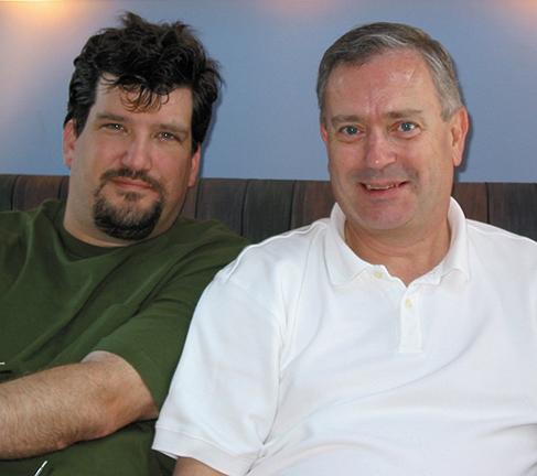 John Archibald and Steve Elkins in Rehoboth Beach