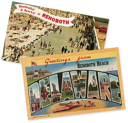 Rehoboth Museum Postcards