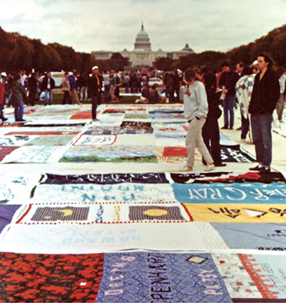 CAMP Out AIDS Quilt
