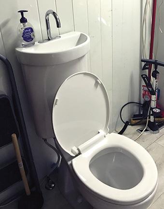 Combo Toilet Sink
