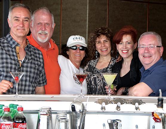 CAMP Cruise-Martini Bar