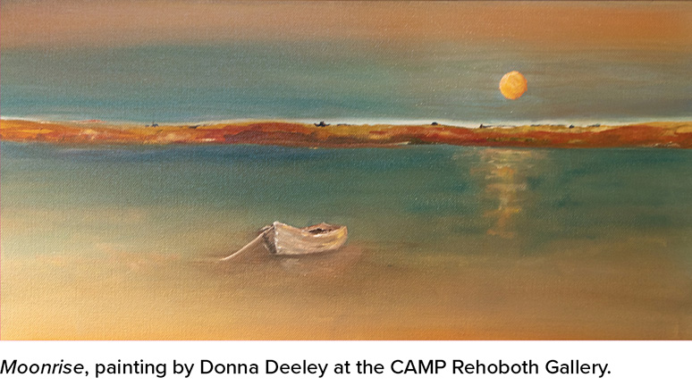 Moonrise by Donna Deely