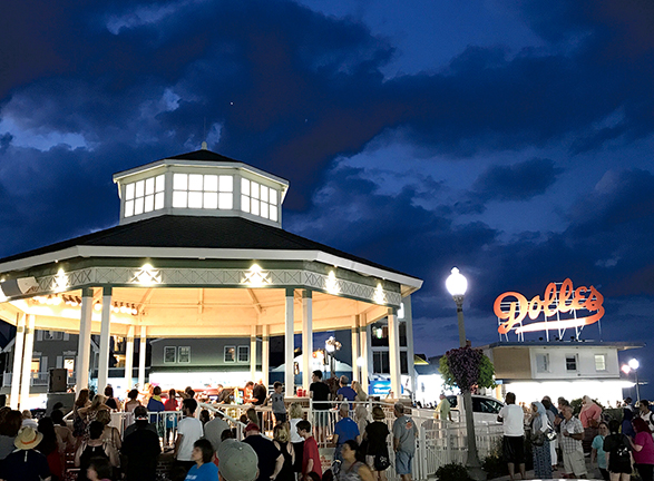Rehoboth Beach Bandstand and Boardwalk