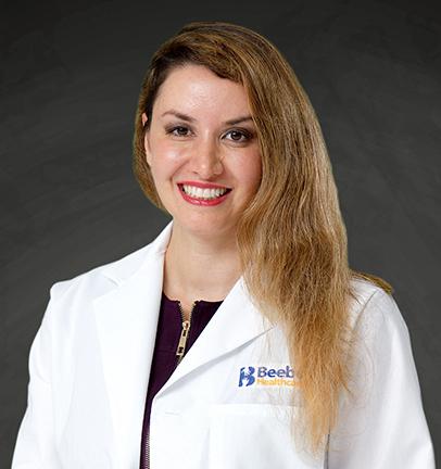 Samaheh Dowlatshahik, MD at Beebe Endocrinology