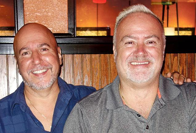Joe Zuber and Darryl Ciarlante