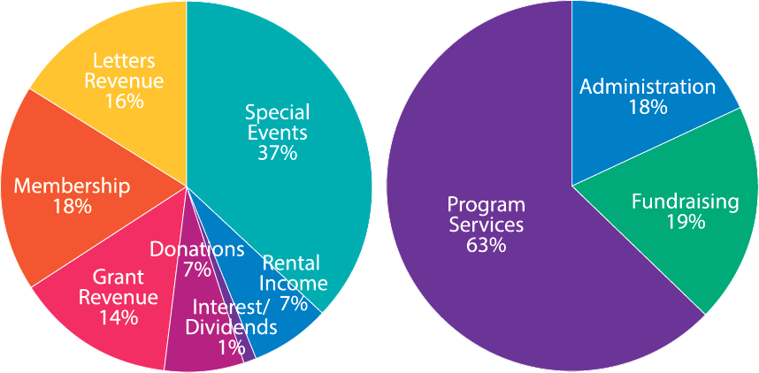 CAMP Rehoboth 2016 Income and Expenses
