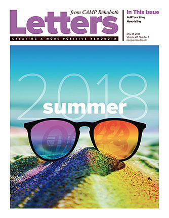 May 18, 2018 - Cover of Letters from CAMP Rehoboth