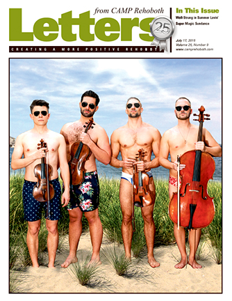 July 17, 2015 - Cover of Letters from CAMP Rehoboth