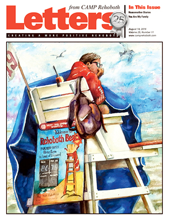 August 14, 2015 - Cover of Letters from CAMP Rehoboth