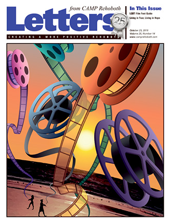 October 23, 2015 - Cover of Letters from CAMP Rehoboth