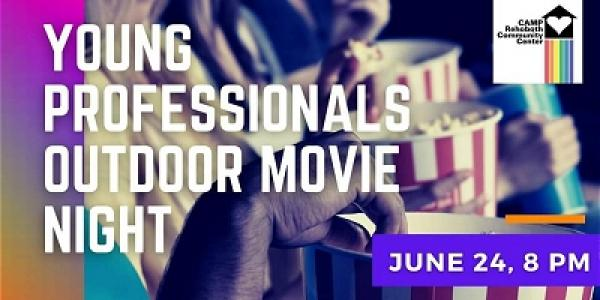 Young Professionals Drive In Movie Night