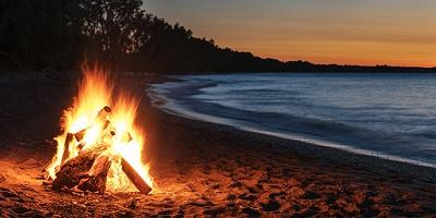 LGBTQ Families Bonfire event in Rehoboth Beach, Delaware