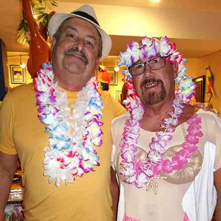 Tom and Marc's Tropical Party.