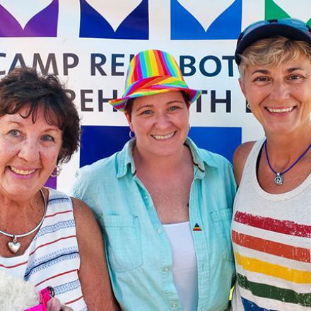 Nancy Commisso, Kat Riley, Rose Moorehead