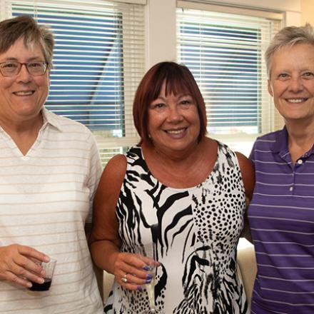 Sue Griesemer, Patricia Stiles, Jean Chlastawa