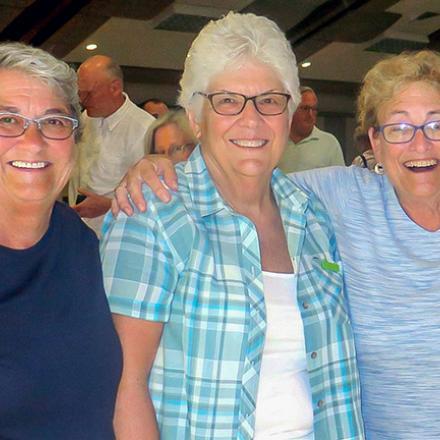 Bonnie Quesenberry, Muriel Hogan, Fay Jacobs
