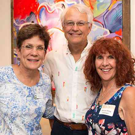 Susan's Art Reception at the CAMP Rehoboth Community Center Gallery.