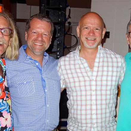 Rod Cook, Michael Fetchko, Keith Petrack, Charlie Browne