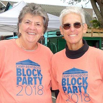 CAMP Rehoboth Block Party 2018
