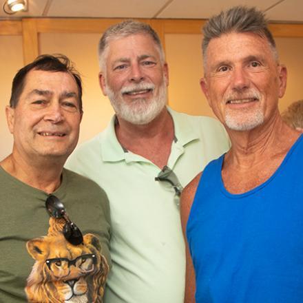 Doug Sellers, Phil Vehslage, Jim Mease