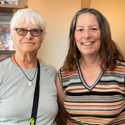 Sue Goudy, Claire Ippoliti