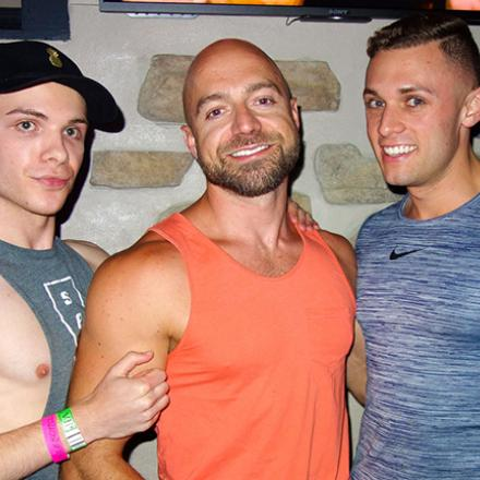 Kyle Kirk, Palmer Sampson, and Andrew Dicostan