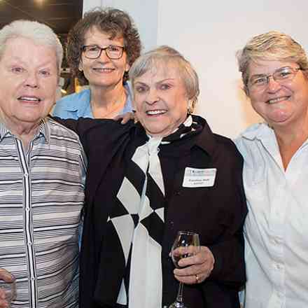CAMP Rehoboth Art of the Community Reception at Peninsula Gallery