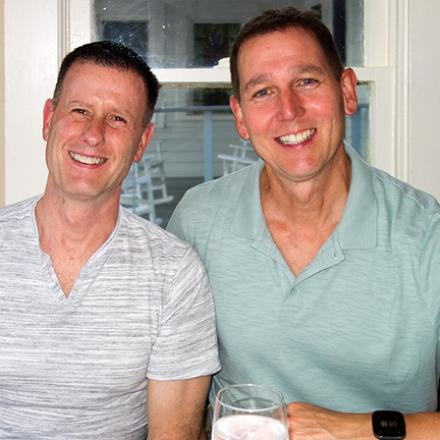 John Swift, and Ron Bowman at Blue Moon