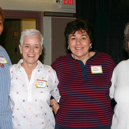 Kym Thompson, Jackie Goff, Linda Balatti, Mary Beth Oberholtzer,