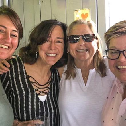 Susan Shollenberger, Anita McMullen, Mary Jenkins, Deb Bievenour