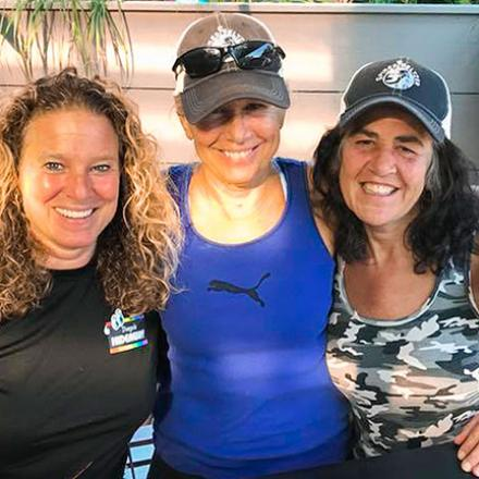 Steph Dalee, Sue Craley, Monique Gibson